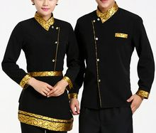 New design fashionable hotel receptionist uniforms