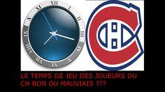 Montreal Canadiens - Temps de jeu des joueurs ?  #ch # habs #canadiens #hockey #maitrefun #nhl #lnh #icehockey #fr #qc
