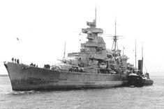 29 May 1941 Damage to Engines forced the cruiser to run for Brest. She reached port on Naval History, Military History, Titanic Wreck, Navy Times, Prinz Eugen, Heavy Cruiser, Military Pictures, Military Diorama, Cruises