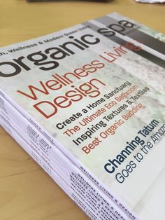 It just ARRIVED!! Get ready the Wellness Living & Design Issue hits Newsstands on 5/12/15!! http://bit.ly/osmsite