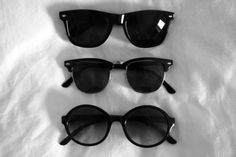 Sun glasses, gorgeous eye protection. ;)