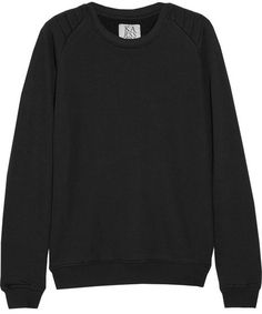 Zoe Karssen Cotton-blend terry sweatshirt