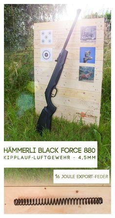 Hämmerli Black Force 880 - Kipplauf-Luftgewehr - 4,5mm
