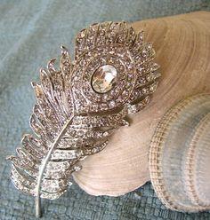 (via tone on tone peacock feather… | ❤ Grey ~ Beige & Co. ❤ | Pinterest)