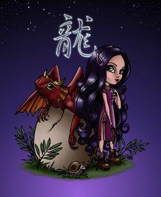 deviantART: More Like coloriage Jade Dragonne by ~mistress29