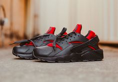 8bf6d259a081 Bred Nike Air Huarache Red Black - Sneaker Bar Detroit Black Huarache