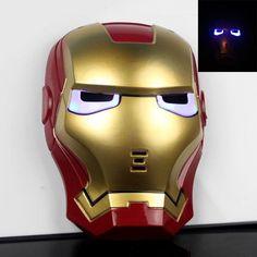 Avengers DEL Glowing Kids Thor Marteau /& Casque Masque