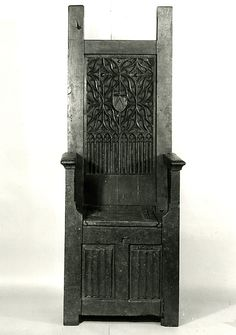 High-Backed Chair 15th c