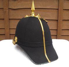 28/LXI Militaria UK – Lt Col P.L. Coates DSO MID. Officer's Full Dress 1878 Home… Navy Air Force, Headdress, Riding Helmets, Badge, Baseball Hats, Pattern, Fashion, Moda, Baseball Caps