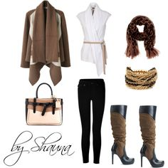 """coffee with cream"" by shauna-rogers on Polyvore"