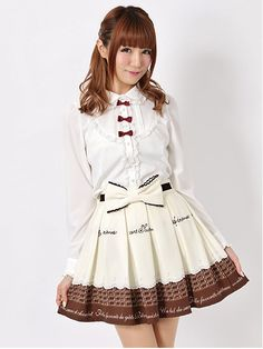 Ank Rouge chocolate skirt