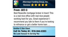 Best Roseville mortgage broker in town! This is a real nice office with real nice people...