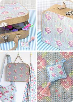 Broderad väska - <i>Embroidered suitcase</i>