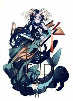 Capricornio - by Inuiikun Zodiac Capricorn, 12 Zodiac, Zodiac Signs, Anime Zodiac, Zodiac Art, Art Anime Fille, Anime Art Girl, Character Concept, Character Art