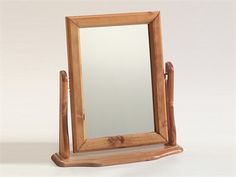Steens London Pine Dressing Table Mirror Flat Packed Mirror