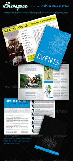 Newsletter Template  Newsletter Templates Advertising And Lifestyle