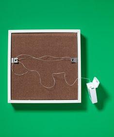 Dental Floss as Picture Hanger
