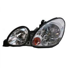 Headlight Headlamp w// Black Bezel Passenger Side Right RH for 2006 Dodge Dakota