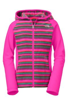 fac095a0eb3e5b The North Face  Glacier  Fleece Hoodie (Big Girls) available at  Nordstrom