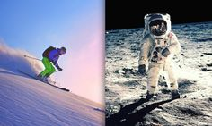 5 Ways NASA Technology Changed The Ski Industry |  Improved: Aerial snow surveys, insulation, weather forecasting, googles, & ski boots.