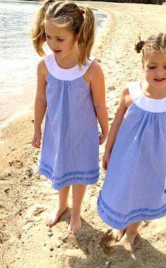 DIY- Adorable Spring dress tutorial