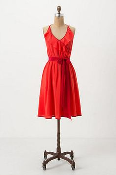 Anthropologie Becca Halter Dress Girls from Savoy Size 4 | eBay