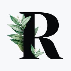 Floral Font, Floral Letters, Alphabet Images, Alphabet Art, P Letter Design, Image Beautiful, Image Font, Alphabet Wallpaper, Typography Alphabet