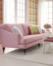 Pink pleasure in the living room!