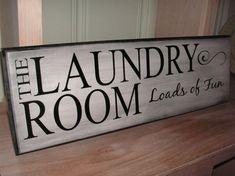 laundry room art?
