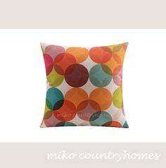 $15 | Throw Pillow Cover | Modern Geometric Decorative Pillows | 43x43cm 17x17 | Pillow Cushion Covers | Modern Home Decor | Minimalistic Pillows