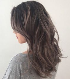 35 Smoky and Sophisticated Ash Brown Hair Color Looks - Part 4