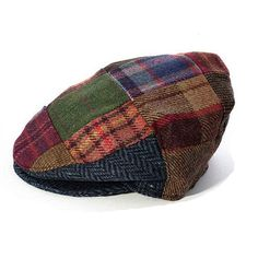 Flat Cap Hat Patch Design