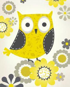 Owl print by Steve Haskamp  ( pictorialboom.etsy.com )