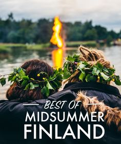 Read our #50DegreeN guide to the best of Midsummer in Finland. Imagine sun that doesn't set beyond the horizon line, warm summer's breeze, still forest lake and a wood-heated lakeshore sauna which is warmed up to just about to the right temperature around 80C (176F). And there you have it, very typical Finnish Midsummer's, or as it is known in Finland, Juhannus' idyll.