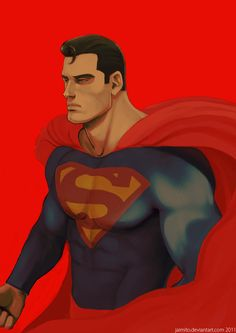 Commission: Superman by jaimito@deviantart.com