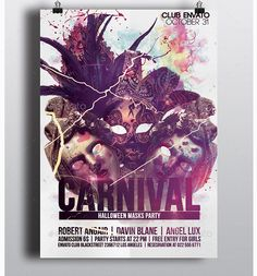 halloween carnival flyers template party flyer templates for clubs business marketing