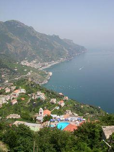 Ravello Coastline, Amalfi Coast, Campania, Italy