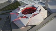 This would be such a crazy stadium!