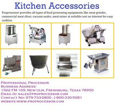 #Professional_Processor the top supplier of food and kitchen processing equipments.