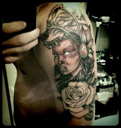 #tattoo #wolfhead #wolf #women #colour #warrior #national #poland #buszi #ink #poznan