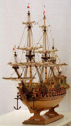 Schiffsmodell Friedrich Wilhelm zu Pferde