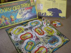 Your place to buy and sell all things handmade Old Board Games, Vintage Board Games, Fun Games, Games To Play, Bored Games, Berenstain Bears, Important Life Lessons, Halloween Games, Candyland