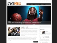 SportPress is a perfect foundation for creative sport website. If you want to impress your visitors with an awesome unique and fresh-looking site – this template is exactly right for you! This WordPress template is absolutely free!