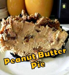 Every Peanut Butter Monster's dream! Peanut Butter Pie