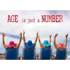 Briefkaart Age is just a number