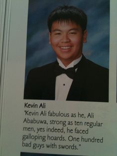 31 Inspiring Yearbook Quotes For Graduating Seniors. These are hilarious. And #23 is THE BEST THING EVER.