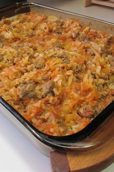 Cabbage Rolls Recipe, Cabbage Recipes, Meat Recipes, Cooking Recipes, Healthy Recipes, Cooking Tips, Cleaning Recipes, Chicken Recipes, Recipies