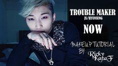 Trouble Maker - JS [NOW] Makeup Tutorial - RickyKAZAF