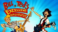 """This animated series landed in 1990 and follows Bill S. Preston Esquire, Ted """"Theodore"""" Logan and their cranky guide-through-time, Rufus, on a most excellent adventure. Description from geek-news.mtv.com. I searched for this on bing.com/images"""