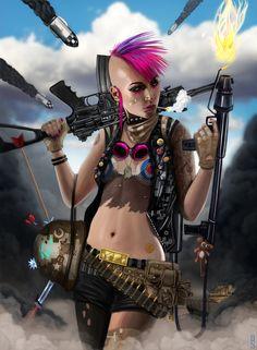 Tank Girl by Rob Shields